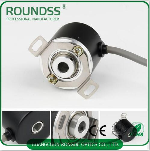 38mm Diameter Rotary Encoder Hollow Shaft Diameter 8mm