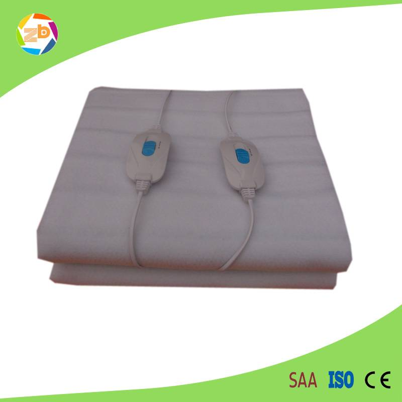 Double controllers 220V electric blanket