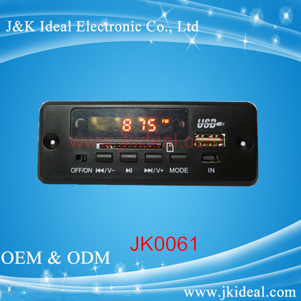 hot sale mp3 player module usb sd fm radio module for speaker