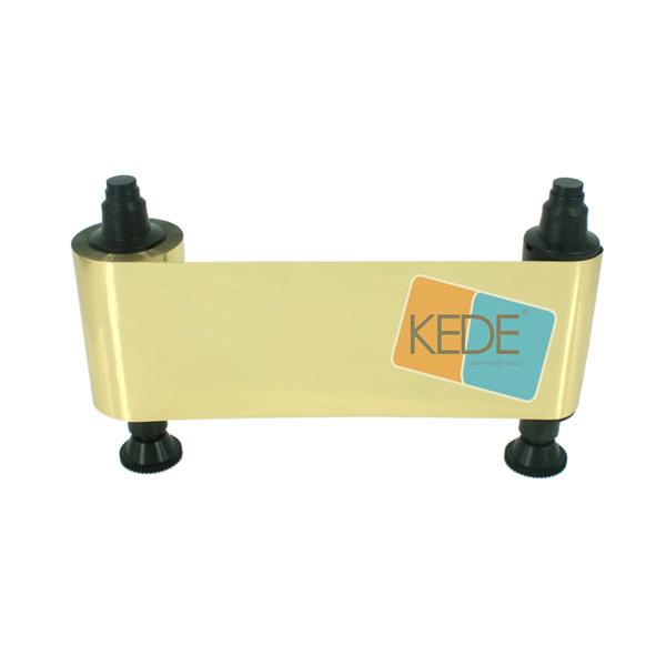 Evolis R2016 Gold compatible ribbon for Pebble Series Dualys 3 Securion printer