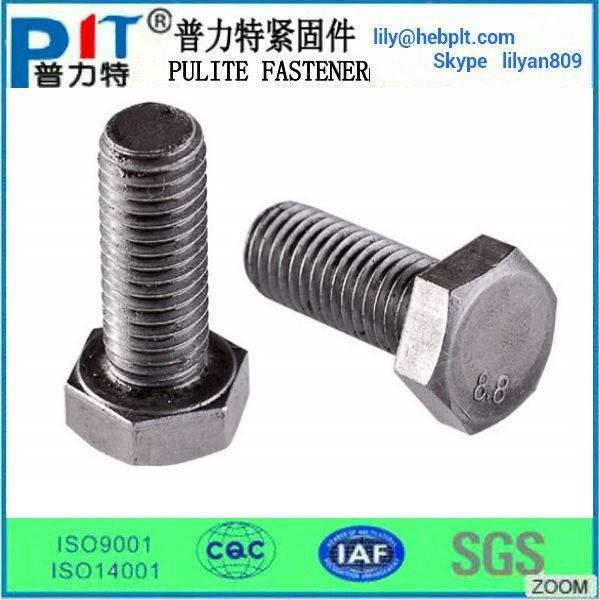 Hex-bolt,steel steel structure bolt