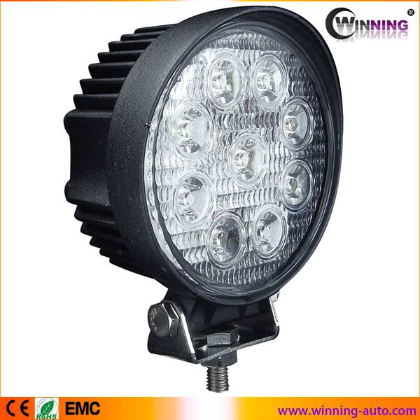 super bright 27w led work light with EMC function