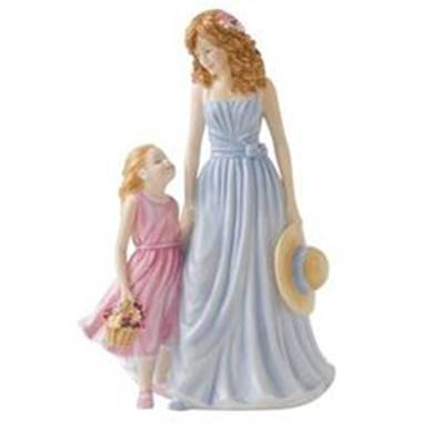 Poly resin Mother's day figurine