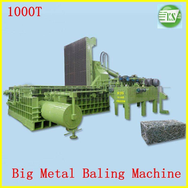 hydraulic scrap metal baling machine