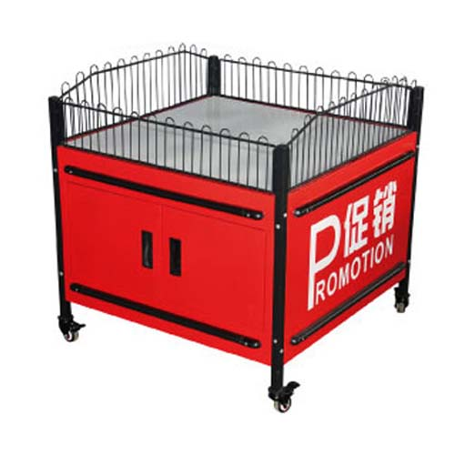 Supermarket Movable Promotion Table 1000x1000x850(H)mm