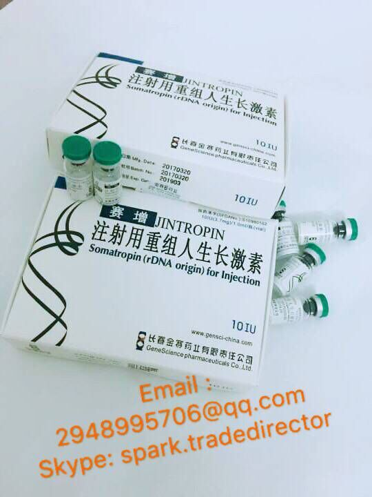 original gensci high purity hgh jintropin 100iu