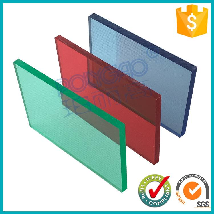 Trustworthy China supplier polycarbonate roof sheets price per/high quality bayer policarbonato soli