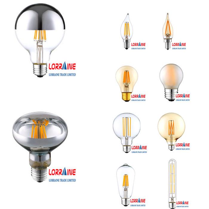 Best qaulity A60 C35 G45 G80 G95 led filament bulb,filament led bulb