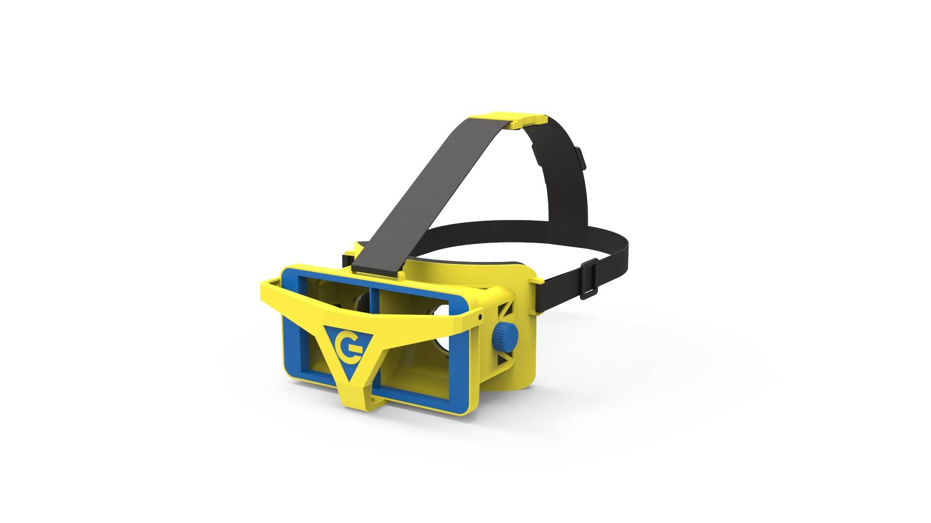 Most popular vr 3d glasses plastic Headset for vr 3d games and experience