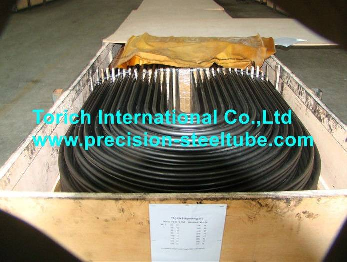 JIS G 3461 Seamless Carbon Steel U Bend Tube For Boiler / Heat Exchanger