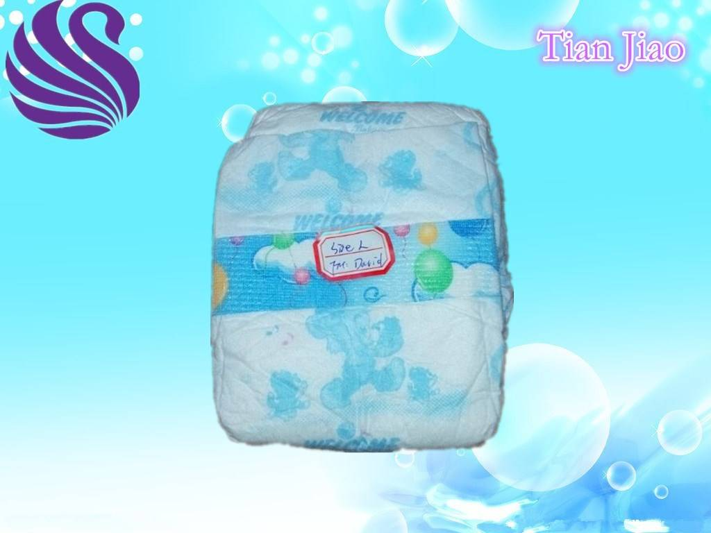 Cute and High Absorption Disposable Baby Diaper