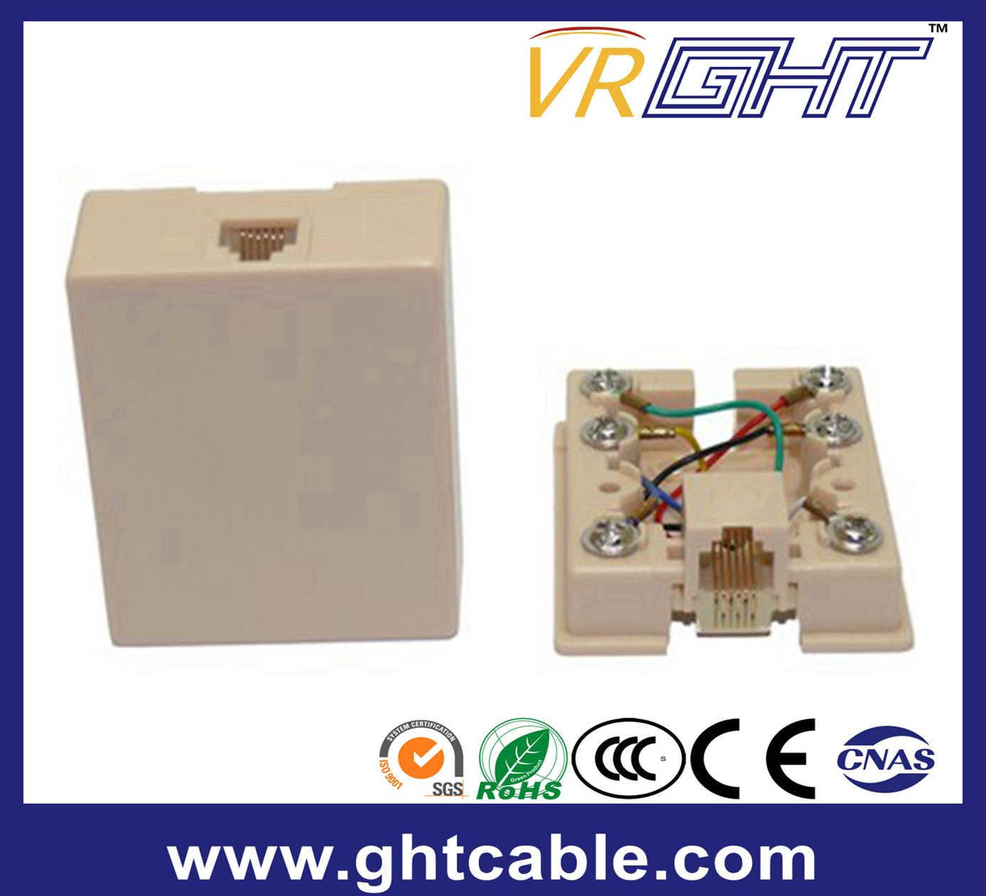 RJ45/Rj11 Telephone Rosette Box