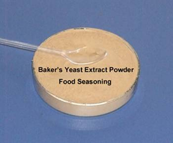 Baker's yeast extract for food seasoning