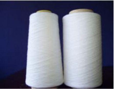 Regenerated Poly/Cotton Yarn O/E Ne 3-20s Bleach White Cheap