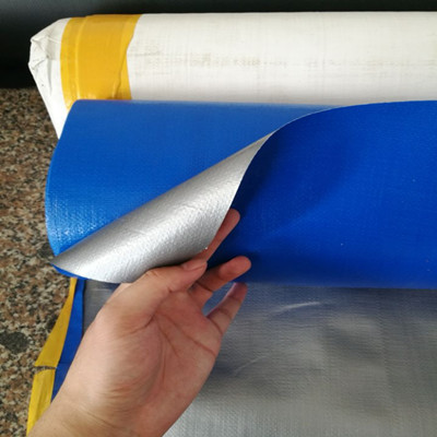 10Mil Waterproof Durable 18x22inch Blue PE Tarpaulin