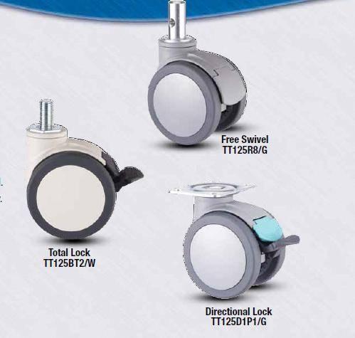 TT Series Twin wheel Casters
