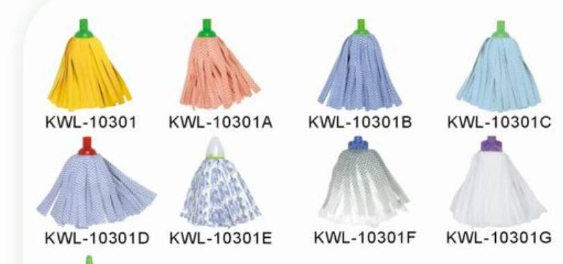 cotton mop head cleaning/magic mop head refill replacement house/floor spunlace cleaning sponge