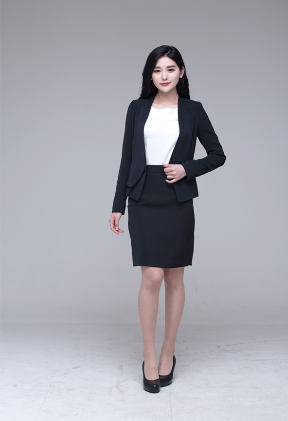 Comfortable Women's Suits Jacket Skirt Business Dress