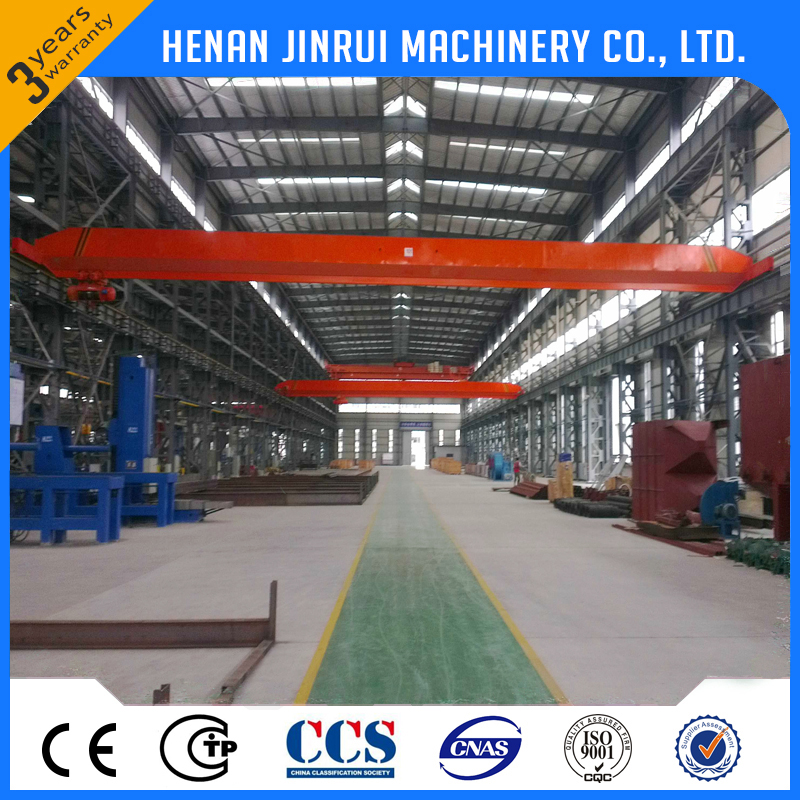Single Beam Electric Hoist Overhead Bridge Crane 3 ton 10 ton Price