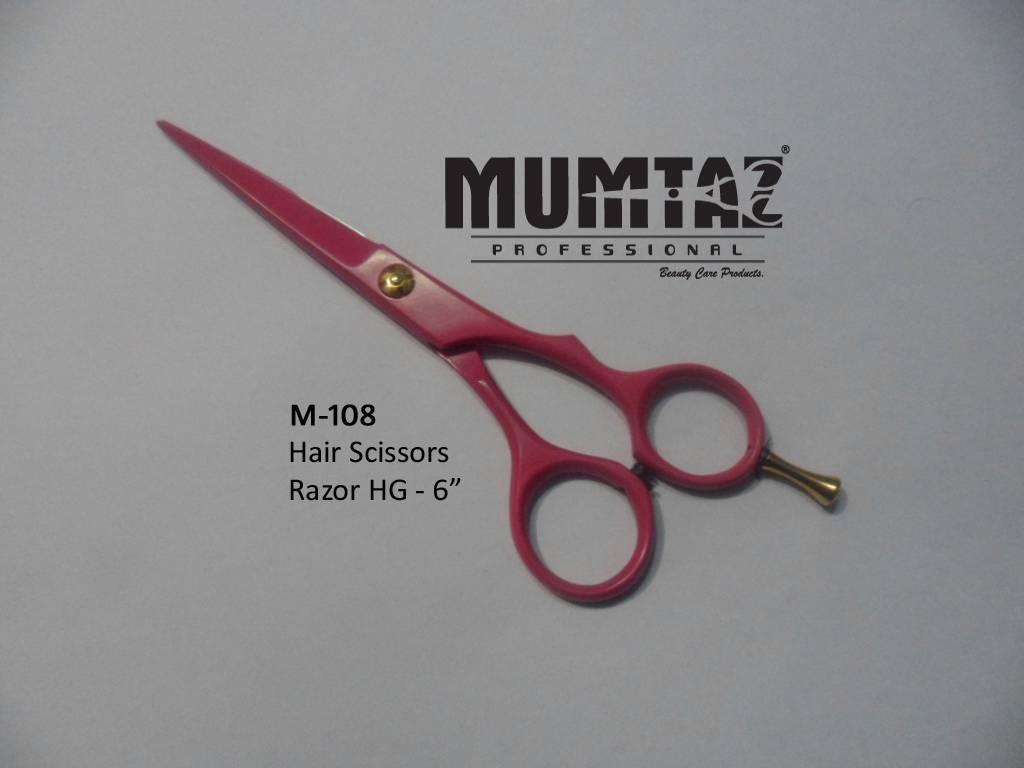 Hair scissors pink