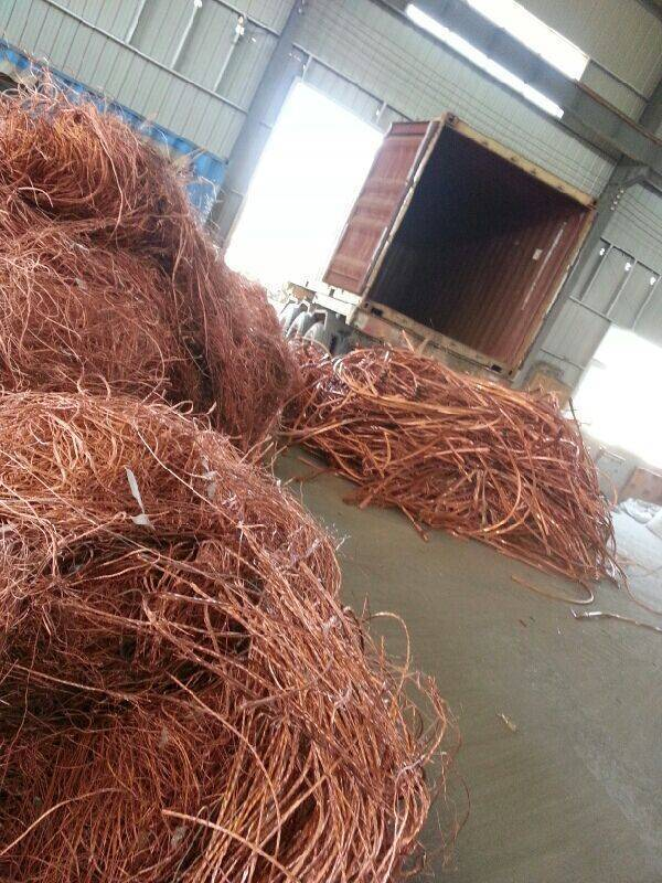copper wire scrap 99.95