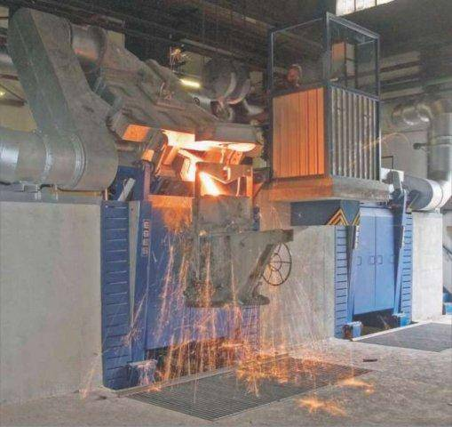 Induction melting furnace MELT&HOLD, model ULTRAMELT