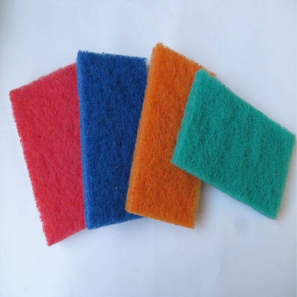 thick dish cleaning scouring pad