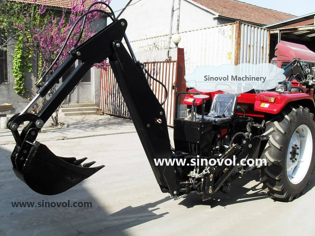 Backhoe,three point linkage with 20-60cm bucket