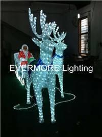 Motif light Santa Claus