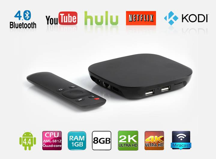 4K Quad Core Android TV Box HR-GT1206A