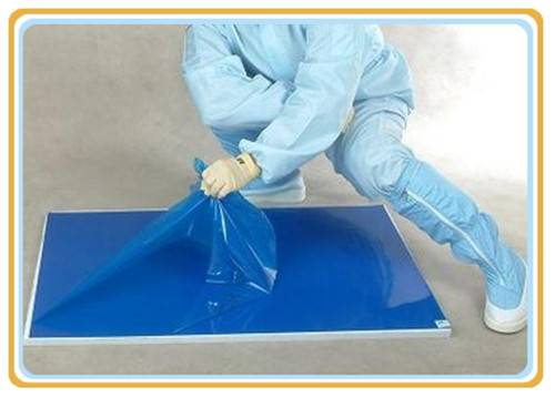 Disposable Walk Off Replacement Door Peel- off Cleanroom Blue Sticky Mat