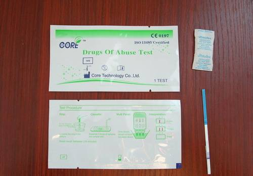 One Step Methamphetamine rapid test