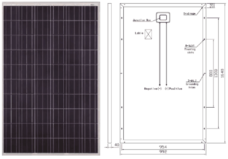 royalstar P60 distributed grid connected photovoltaic system