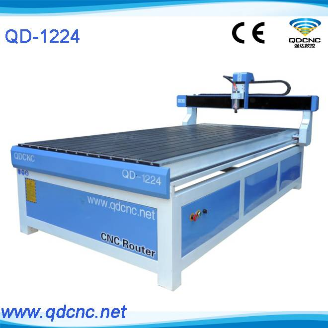 NEW cnc router for advertising materials/1224 wood cnc router QD-1224
