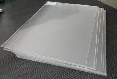 Extruded acrylic sheet