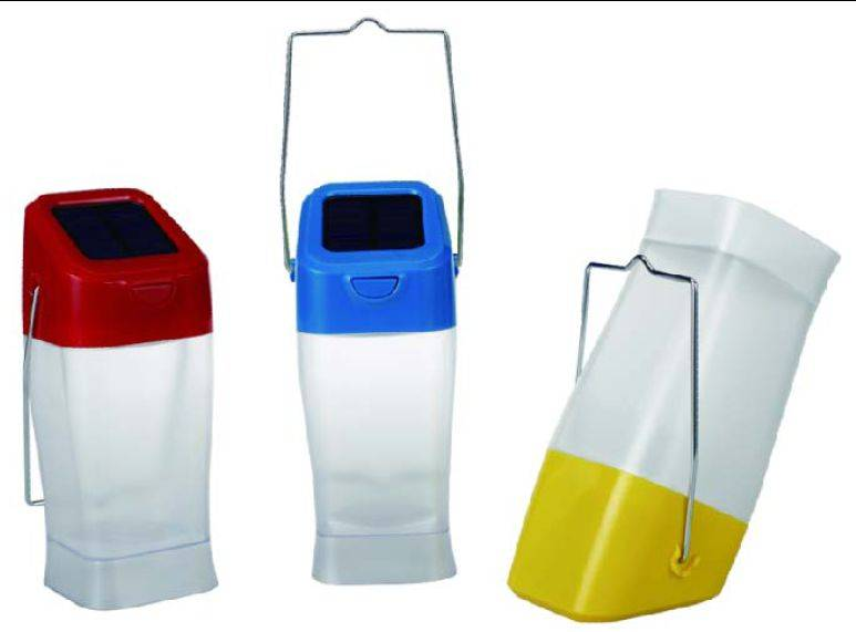 Solar lantern with 0.5W super bright LED