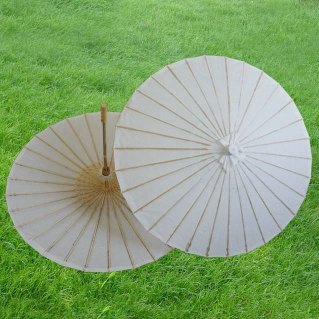 hot selling white umbrella in 2014
