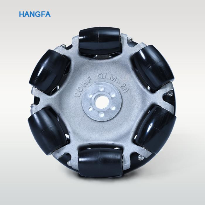 8 Inch robotic omni wheel QLM-24 / robot kits