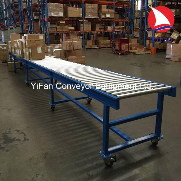 Portable Gravity Roller Conveyor