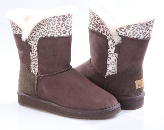 women short snow boot shoes double face sheepskin