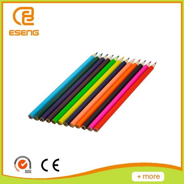 12pcs wooden color pencil in color box