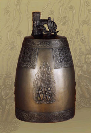 Temple bell (buddhism, religious craft), (Model Number : Unsusa bell)