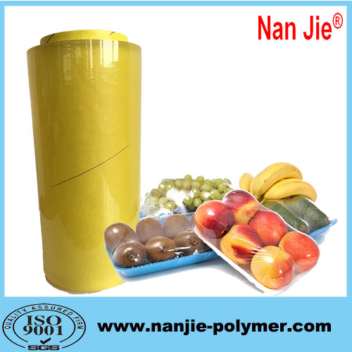 Nan Jie pvc soft cling film big rolls for sale
