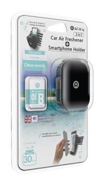 Car Air Freshener + Smartphone Holder