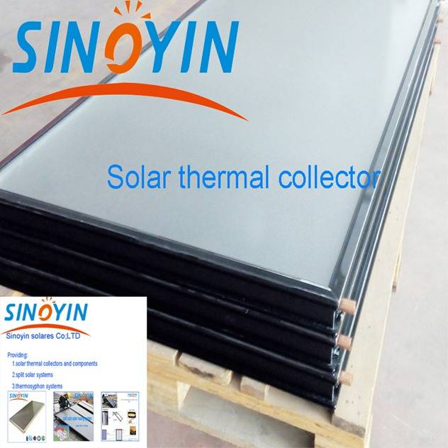 solar thermal heating collector of 2.15sqm solar key mark