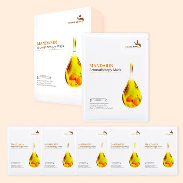 Fresh Mandarin Aromatheraphy Mask