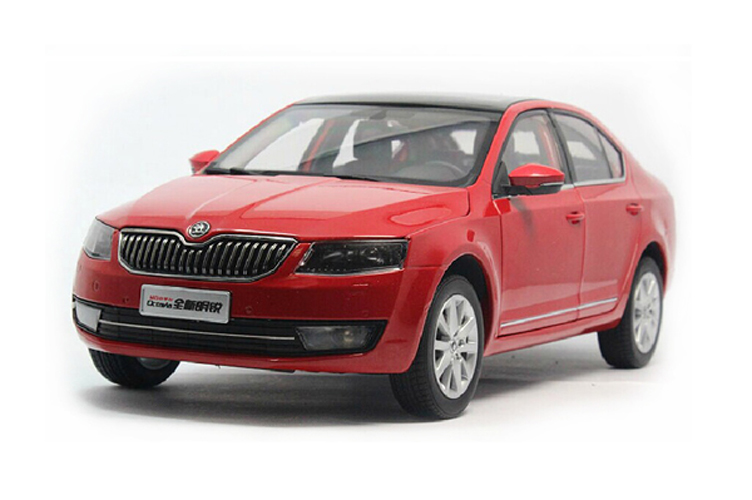 Brand New Skoda Octavia 2014 Die-cast Model 1/18 toy cars Customize Cars, Personalized Gifts