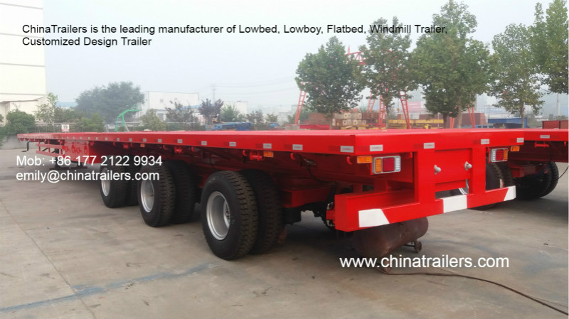 wind blade trailer, Windmill tower transporter, wind energy trailer