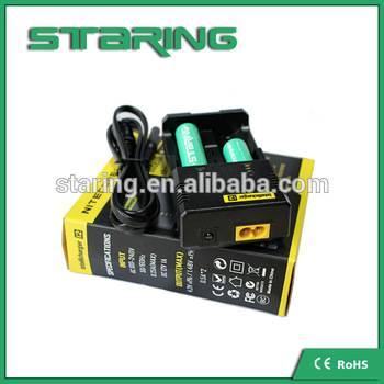 Super universale battery charger nitecore i2 excellent battery charger niteocre 18650 battery charge