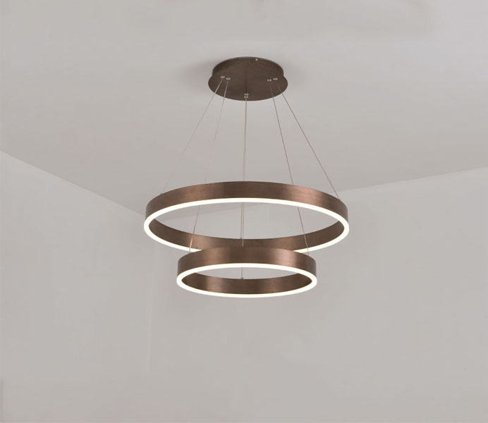 High Quality LED 3 Rings Pendant Light Factory
